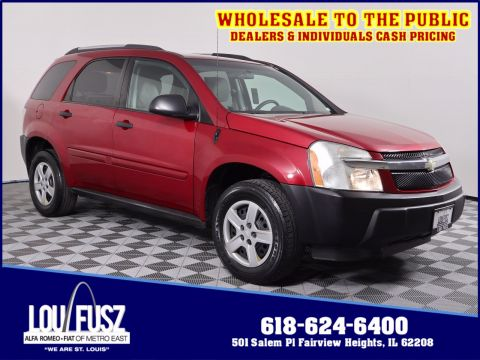 Pre-Owned 2005 Chevrolet Equinox LS AWD Sport Utility