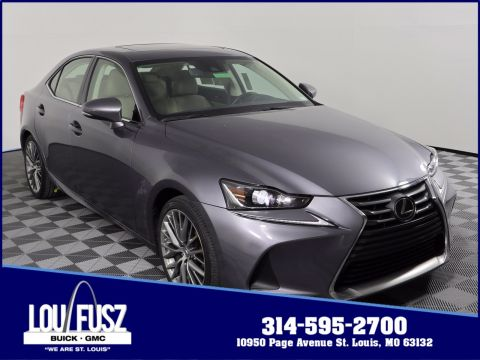 Pre-Owned 2017 Lexus IS IS Turbo RWD 4dr Car